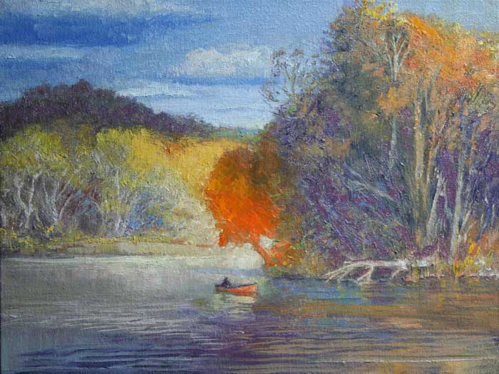Evening on the Chatahoochee - Ed Cahill