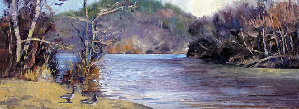 January on the River