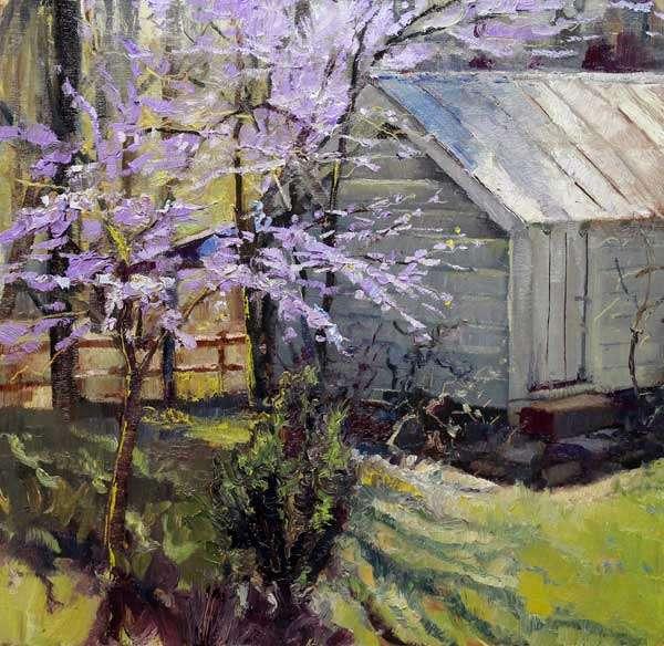 Ed Cahill, Plein Air Painting