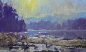 Chattahoochee Sunrise 8×10