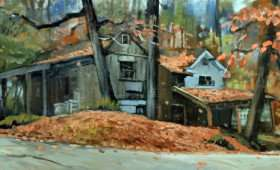 Cottage in the Woods 12×24