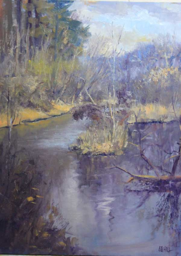 Chattahoochee Nature Park 12 x16 Oil on panel