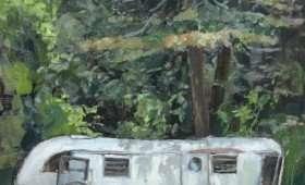 Plein Airstream 12×16 : $350
