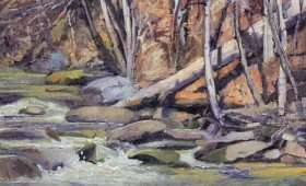 Sope Creek Rapids 11×17