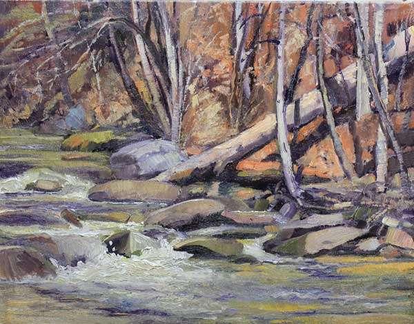 Sope Creek Rapids Ed Cahill