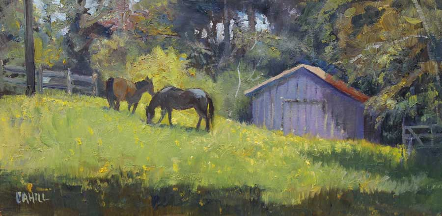 Spring Pastures Ed Cahill
