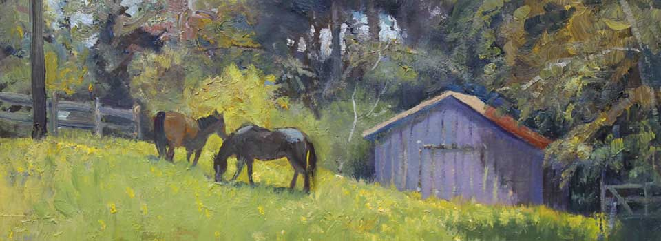 Spring Pastures 8×16 : SOLD