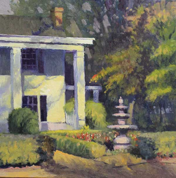 Founders Hall Roswell Ed Cahill Plein Air