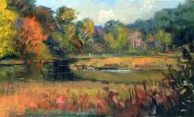 Finally Fall in the Marsh 8×16