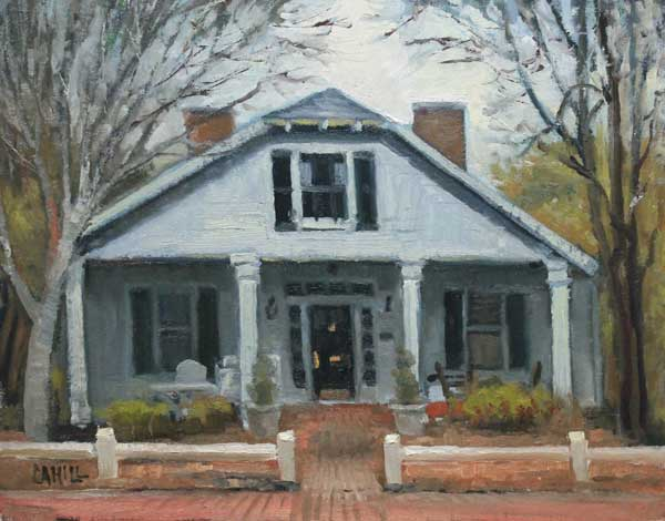 Sloan Street Ed Cahill Painting