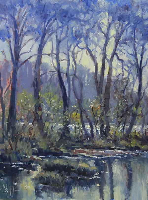 Artist's Treasure, 12x16, Ed Cahill painting