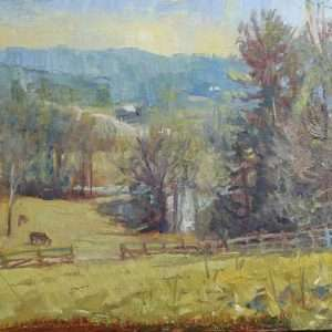 Valhalla, 12x16, Ed Cahill painting