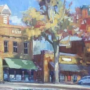 Sunset-Streets, 12x24, Ed-Cahill