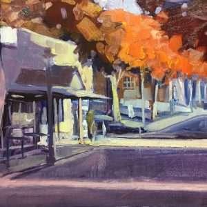 Canton Street Color, 11x14, Ed Cahill