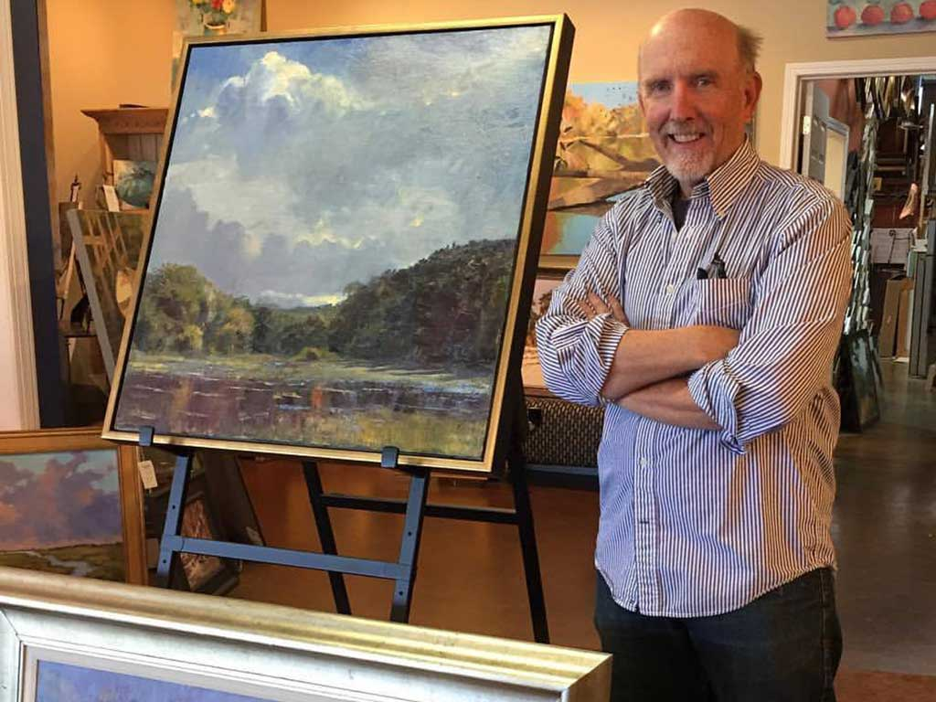 Ed Cahill, Fine Art, Plein Air Painter, Marietta GA