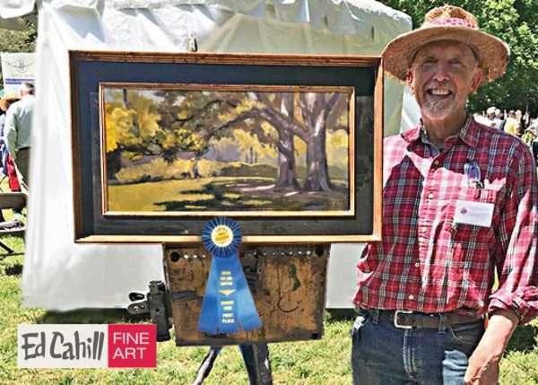 Ed Cahill, Plein Air Painter, Olmstead Winner