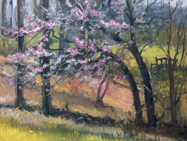 Redbud Afternoon, Ed Cahill