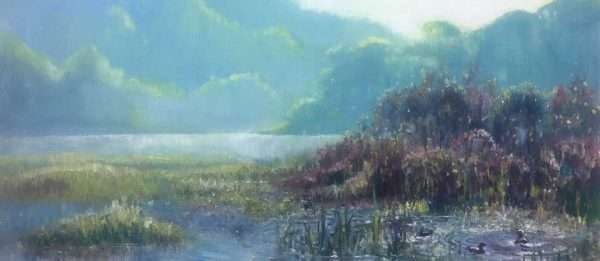 Spring on the Flats, 12x24, Ed Cahill