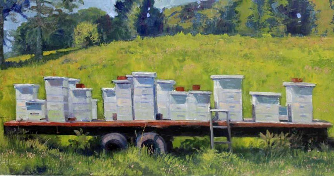 Honey Town, Ed Cahill Fine Art